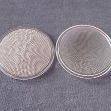 KU-50 Высококачественная светодиодная линза, диаметр 50 мм, материалы PMMA, прозрачный цвет, поверхность бусин