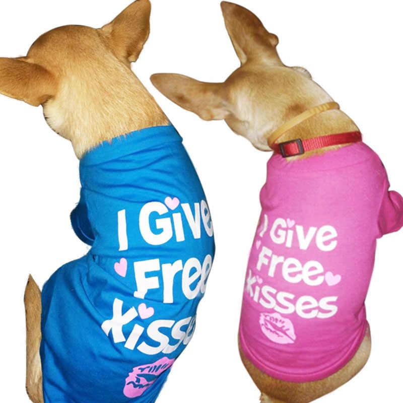 Zomer Hond Kleding voor Kleine Hond Shirt Pet Kleding voor Honden Jas Kleding voor Chihuahua Kostuum Huisdier Producten Puppy