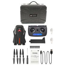 лучшая цена High Quality SG906 GPS 5G WIFI FPV 1080P Camera Selfie Foldable Optical Flow Positioning RC Drone Quadcopter RTF