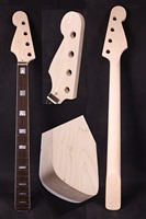 electric guitar bass neck 34 inch 20 fret reverse headstock Maple yinfent