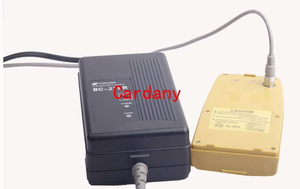 Topcon BT-52Q NiMH BATTERY With BC-27CR Charger For TOPCON Total Station charger for topcon battery bt 52q bt 52qa total station