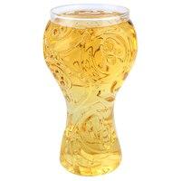 La russie 2018 Coupe Du Monde Bière Stein Home Bar Boire de La Bière En Verre tasse Boisson Tasse Verres à Vin avec Boîte-Cadeau de Détail En Verre Tasse