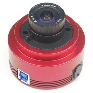Image 1 - ZWO ASI385MC لون الفلك كاميرا ASI الكواكب الشمسية التصوير القمري/توجيه عالية السرعة USB3.0