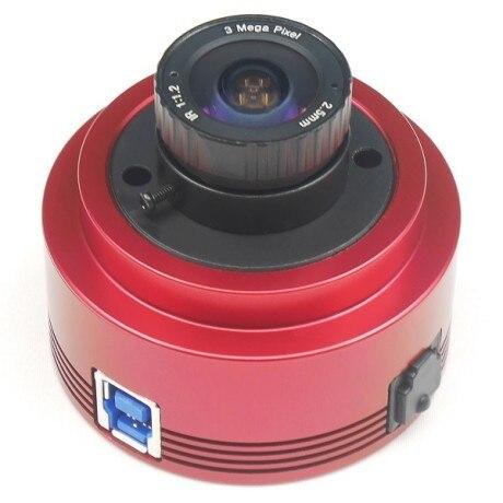 ZWO ASI385MC لون الفلك كاميرا ASI الكواكب الشمسية التصوير القمري/توجيه عالية السرعة USB3.0