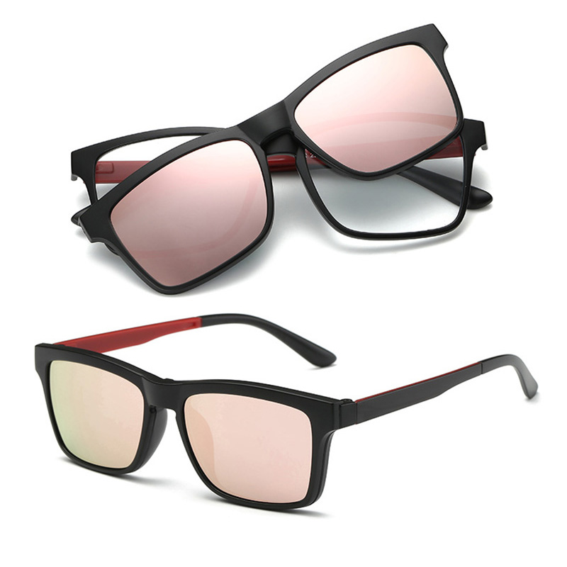 6662b2242738 Detail Feedback Questions about Flexible TR90 Frame Classic Sun Glasses  Women Magnetic Polarized Prescription Sunglasses For Myopia Lens With Clip  On Glass ...