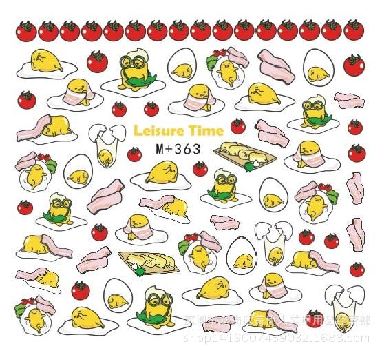 046 5 De Descuentoaliexpresscom Comprar 89 Cm Gudetama Etiqueta Engomada 8 Estilos De Dibujos Animados Japoneses Estrella Marca De Agua