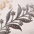 Nova folha de cristal liga delicada tiara para noiva coroa cocar acessórios do cabelo do casamento de jóias por atacado