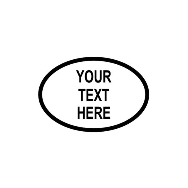 Aliexpresscom  Buy Personalised Custom Oval JDM Reflective Vinyl - Motorcycle bumper custom stickers