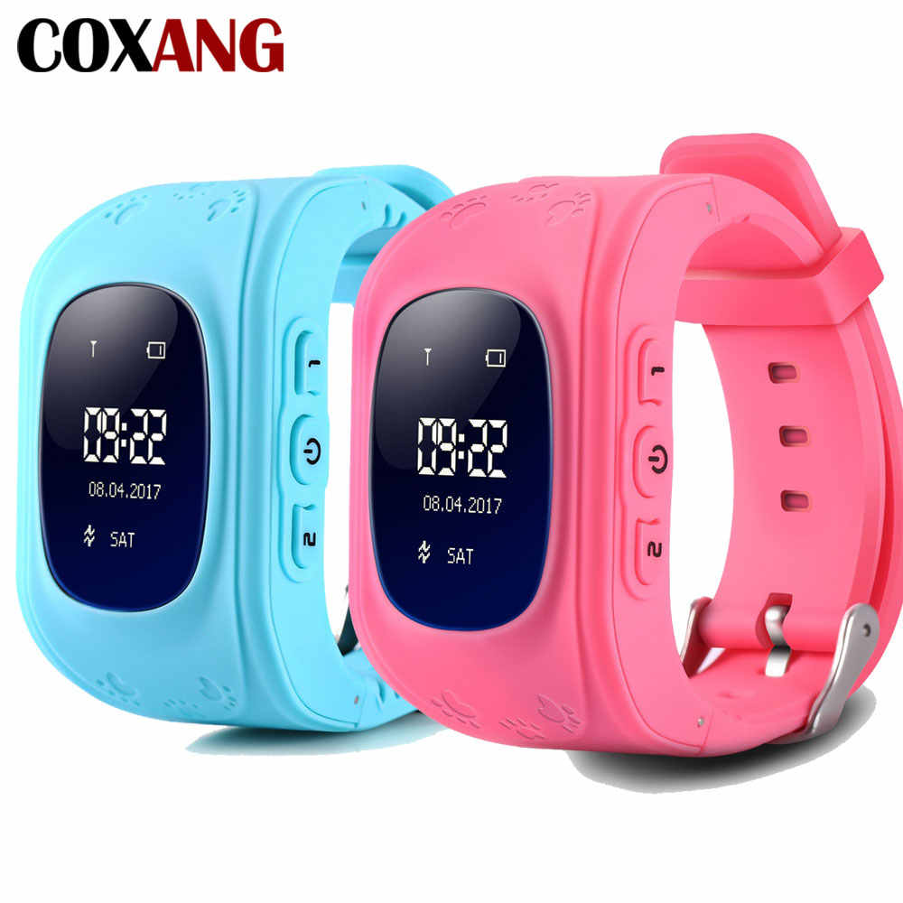 COXANG Q50 Smart Watch For Baby Kids Children with GPS Tracker Locator SOS Phonebook Sim Dial Call Clock Watch Phone Smartwatch