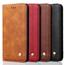 5.84'' Xiaomi Mi A2 Lite Case Flip Cover Funda Pocophone F1 Xiaomi Mi 8 Lite Case Retro Wallet for Redmi Note 6 Pro 6A 5 Plus 4X