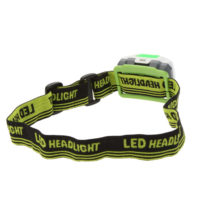 3 Modes 2LED Red 3W Mini White Hiking Camping LED Headlight Headlamp Flashlight Night Fishing Riding Cycling Head Lamp