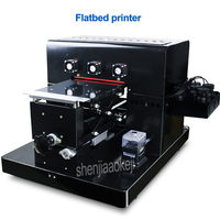 Flatbed printer flat plate universal printer for mobile phone shell shop, factory, advertising company printing equipment 260w