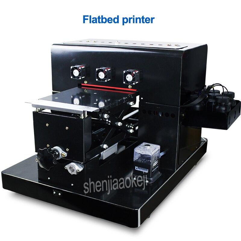 Imprimante à plat plat plaque d'imprimante universel pour mobile téléphone shell boutique, usine, société de publicité matériel d'impression 260 w