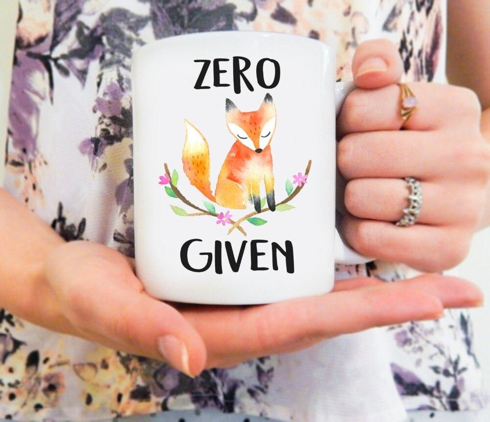 Fox mugs kitchen Decor ceramic art home decal whisky wine beer milk tea porcelain coffee mug