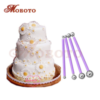 4pcs Steel Fondant Modelling Tools Newest Cake Decorating Supplies