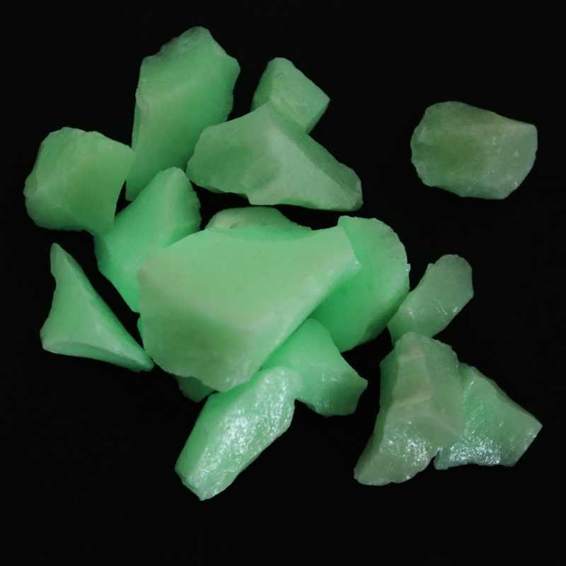 זוהר אבן אור נספג אבנים אקווריום דגי טנק אבן ניאון זוהר בחושך נתיב פאטיו דשא גן קישוט
