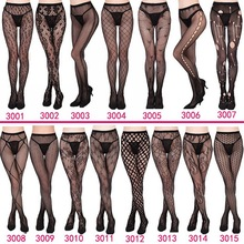 Women's sexy fishnet tights Jacquard weave pantyhose, yarns sexy Garter net Stockings hose  sexy lingerie collant