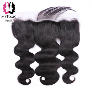 Image 5 - Mstoxic Brazilian Body Wave Bundles With Frontal Closure 30inch 32 34 36 38 40inch Long Remy Human Hair Bundles With Closure