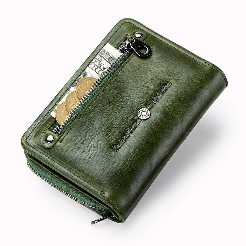 65dae4c55ec5 ... Контакта кошелек Для женщин кожа короткие портмоне женская обувь из натуральной  кожи кошелек фирменный дизайн 2018 ...