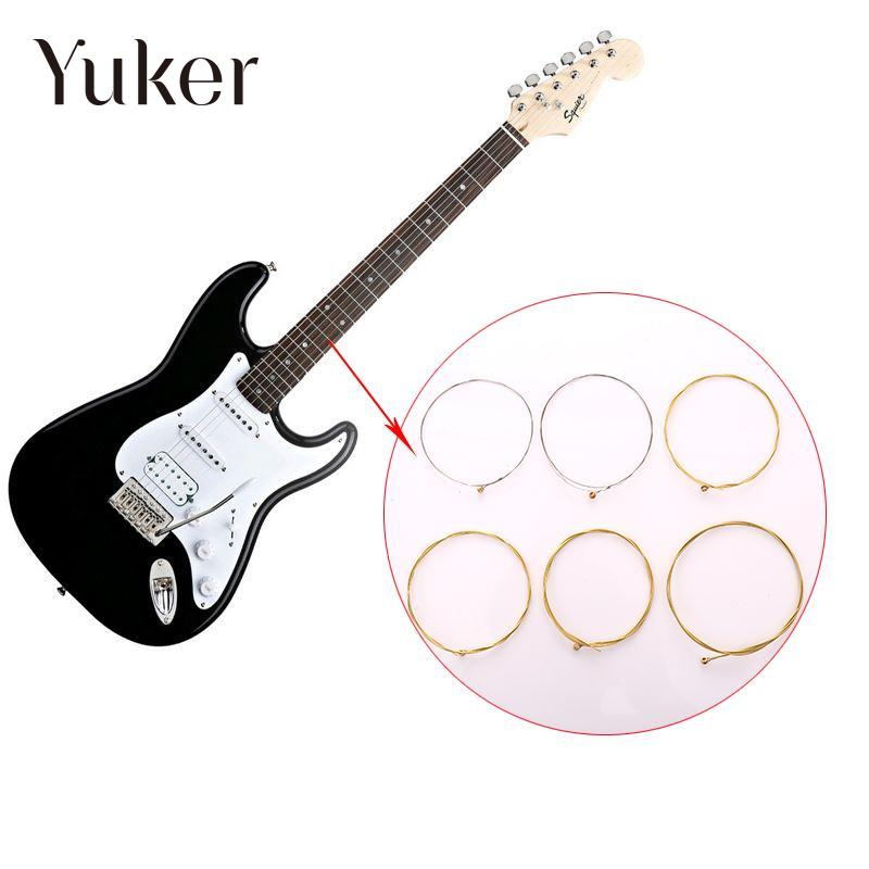 Yuker 6pcs String Guitar Popular Heavy Metal string Electric Guitar Singer Accessories