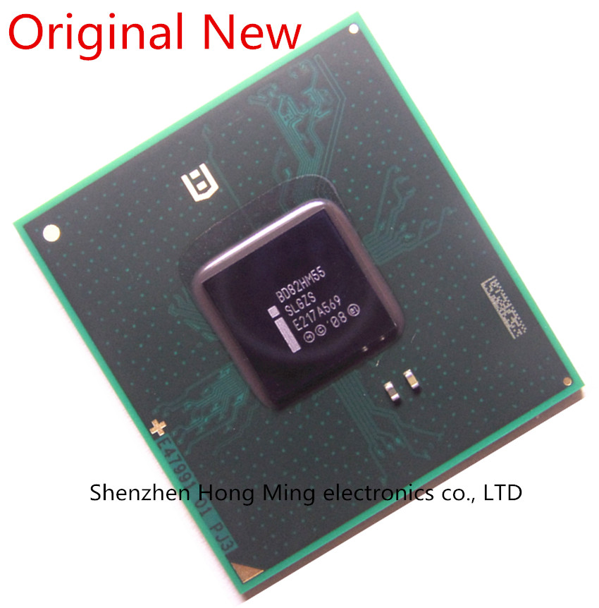 100 New BD82HM55 SLGZS Laptop BGA Chipset