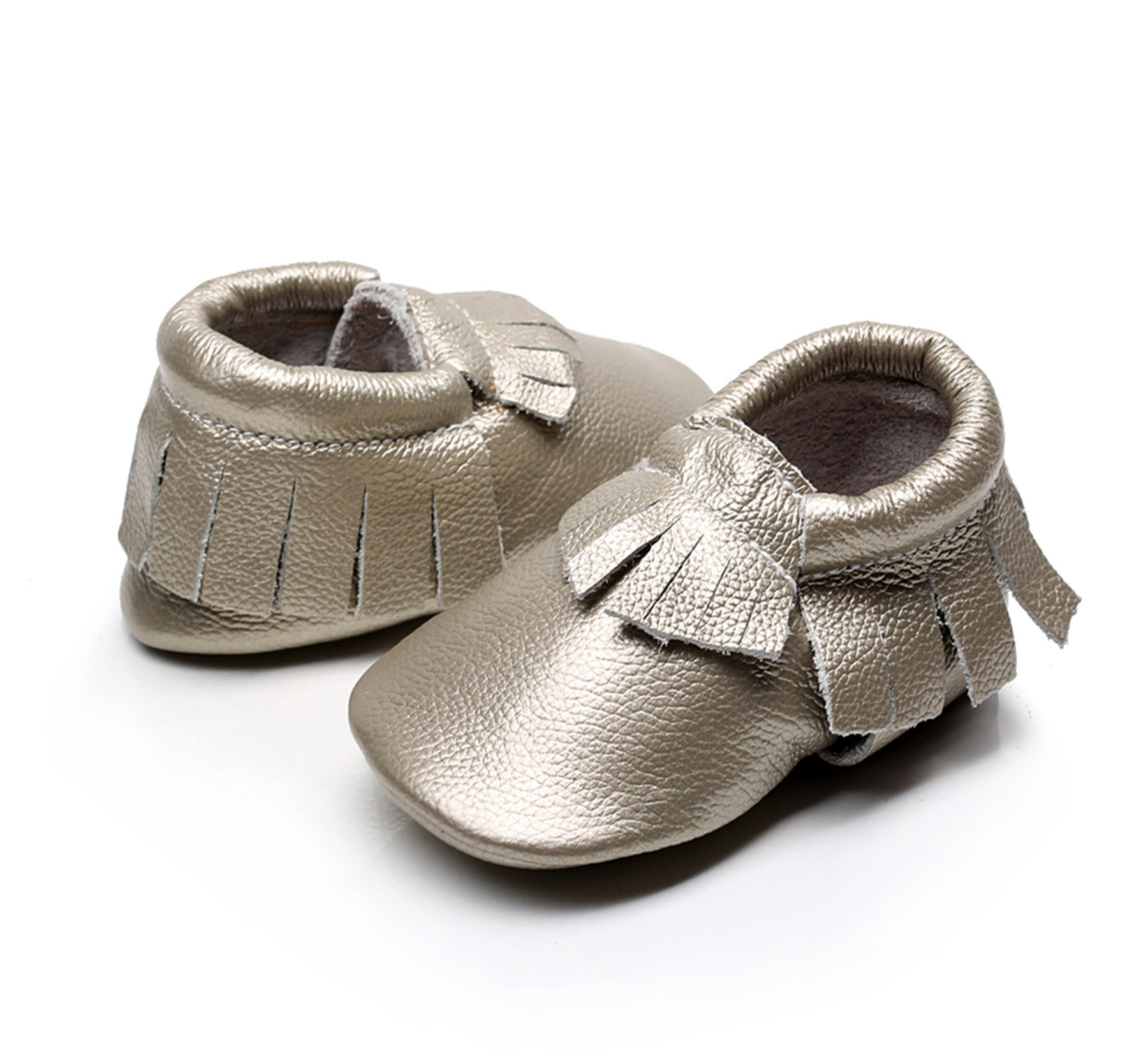 Baby First Walkers Genuine Leather Soft Bottom Fashion Tassels Baby Moccasin Newborn Babies Shoes