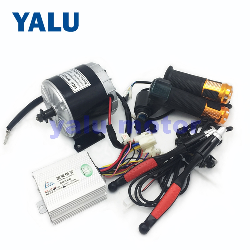 24V 350W Electric Bike DC Motor MY1016 Electric Bicycle Conversion Kit With Scooter Digital Throttle Battery Indicator Ebike Kit24V 350W Electric Bike DC Motor MY1016 Electric Bicycle Conversion Kit With Scooter Digital Throttle Battery Indicator Ebike Kit