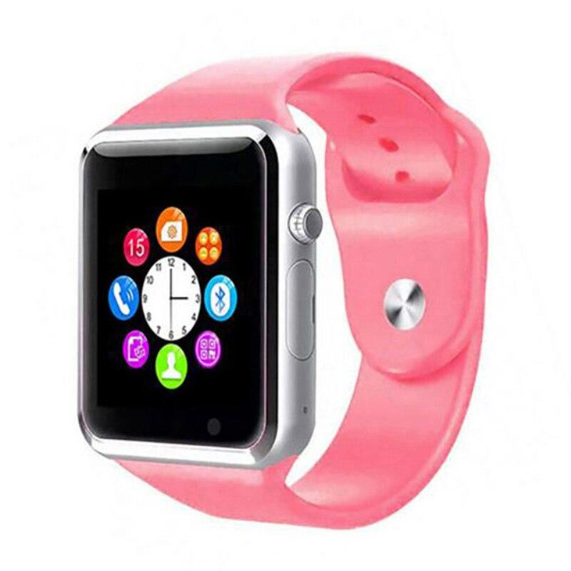 A1 moda mężczyźni i kobiety inteligentny zegarek urządzenie do - Męskie zegarki - Zdjęcie 4