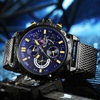 2018 naviforce Элитный бренд Для Мужчин's Повседневные часы Человек Спорт Военная Униформа наручные часы Сталь Водонепроницаемый Дата Часы Relogio