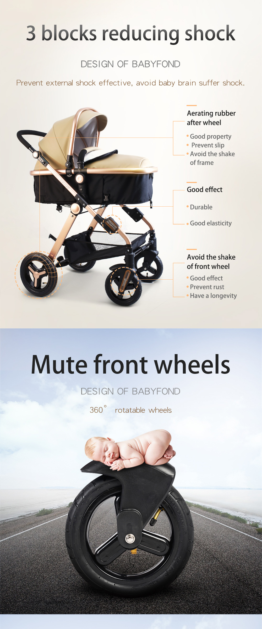 High Quality stroller 3