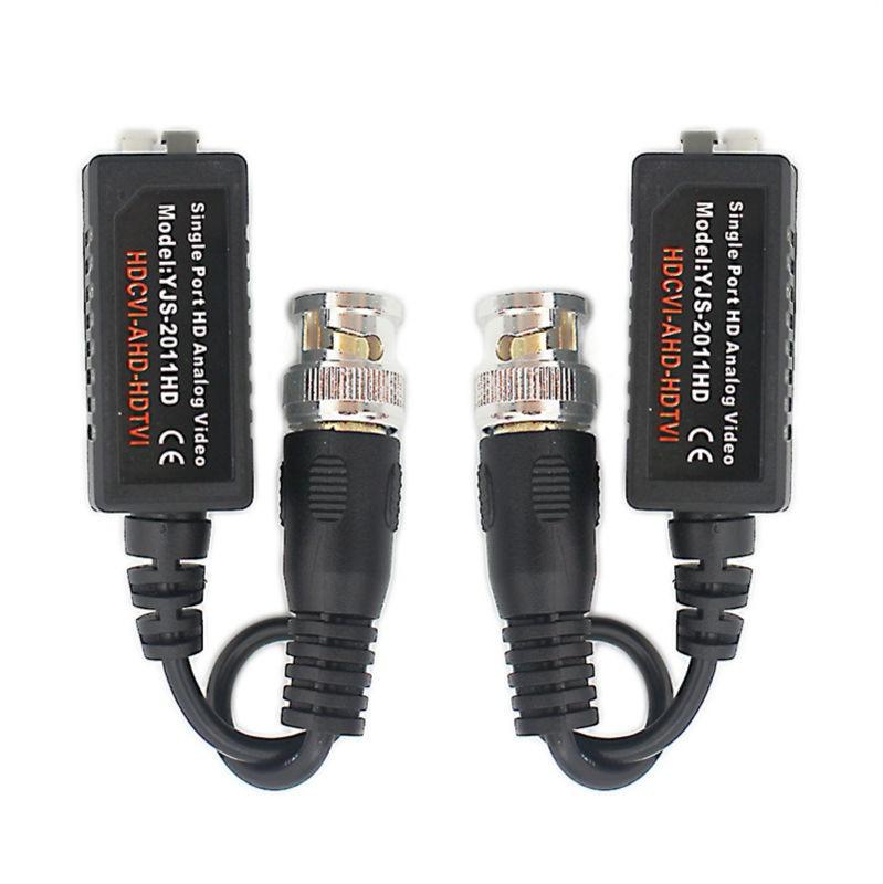 AHD CVI TVI CVBS font b Video b font Balun support 720P 1080P camera CCTV Passive
