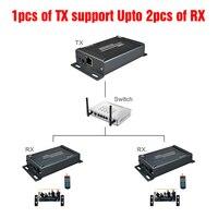 (1 отправителя и 2 приемники) 1080 P HDMI Over IP Extender ИК с аудио эксрактор по Rj45 Cat5/Cat5e/Cat6 120 м HDMI extender ИК