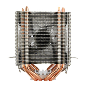 Image 4 - ALSEYE Dual tower CPU cooler 4 heat pipes 4pin 90mm RGB fan for computer processor cooling fan cooler for Intel and AMD