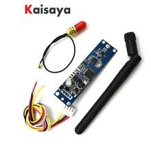 2.4 ghz 무선 dmx512 송신기, 안테나가있는 pcb 모듈 보드 led 컨트롤러 wifi 수신기 F5 006