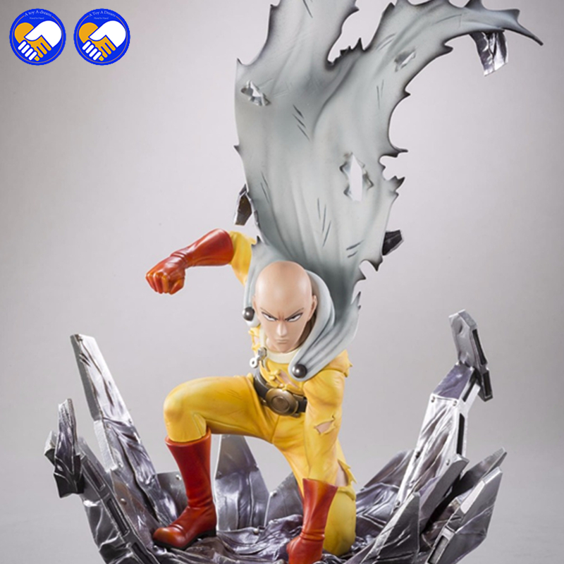 цена на A toy A dream Anime 25cm Saitama Tsume ONE PUNCH MAN Action Figure Toys