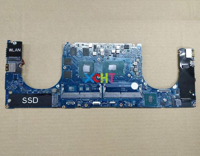 Материнская плата для ноутбука Dell XPS 15 9560 YV12N 0YV12N, протестированная материнская плата для ноутбука, CAM00/01, CN 0YV12N, GTX1050, 4 Гб