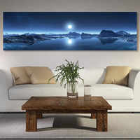 poster and Picture wall moon posters canvas painting art print painting on the wall picture Painting landscape art home decor