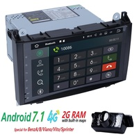 2 грамма 4G WI FI 2din без DVD gps Штатная для Mercedes Benz B200 A B класс W169 W245 viano Vito W639 Sprinter W906 Bluetooth радио