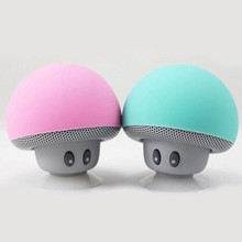 suqy Wireless Mini Bluetooth Speaker Portable Mushroom Waterproof Stereo Speaker for Mobile Phone iPhone Xiaomi Computer