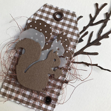 JC Squirrel Eat Nut Metal Cutting Dies for Scrapbooking Cut Craft Stencil Handmade Folder Paper Card Make Model Decoration