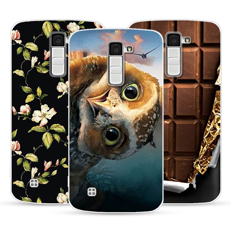 3D Soft Paint Case For LG K10 Lte K 10 K420N M2 K410 K430DS F670 Dual Case Back Cover For LG K10 Silicone Cover Back Bag
