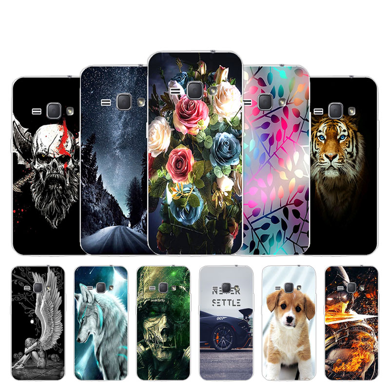 <font><b>For</b></font> <font><b>Samsung</b></font> <font><b>Galaxy</b></font> J1 2016 <font><b>Case</b></font> Soft Silicone TPU Back Phone Cover Lovely Design <font><b>For</b></font> <font><b>Samsung</b></font> J1 J 1 J120 <font><b>J120F</b></font> Funda Coque image