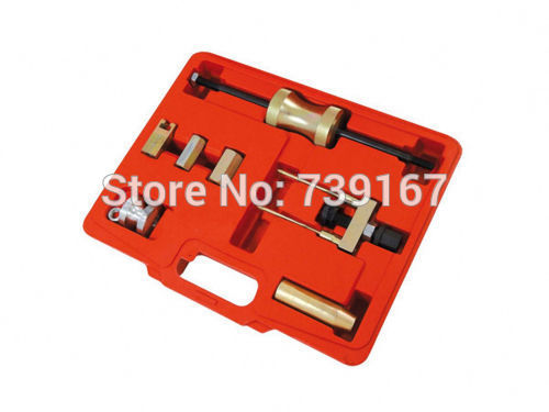 Diesel Engine Injector Puller Removal Tool Set For VW AUDI 1.4/1.9/2.0/2.5/2.8/3.0/4.0 TDI ST0202 engine diesel injector puller set removal garage tool for vag tdi vw audi