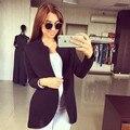 Женщины леди пиджаки высокое качество моде очаровательной 2016 предназначен стильный сексуальный с длинным рукавом кардиган шинель куртка A417