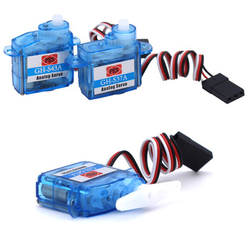 10pcs GH-S43A 4.3g Micro Servo Steering Gear for RC Airplane Helicopter Car Model