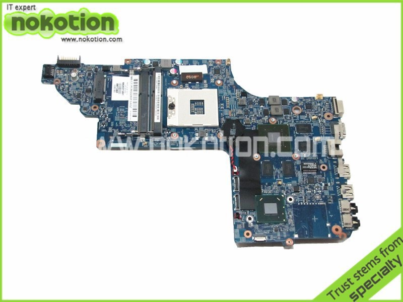 NOKOTION 682037-001 48.4ST10.031 Laptop motherboard for hp dv7-7000 INTEL HM77 ddr3 nvidia GT630M graphics Motherboard 744008 001 744008 601 744008 501 for hp laptop motherboard 640 g1 650 g1 motherboard 100% tested 60 days warranty