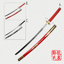 Free Shipping 104cm Length Sword Taroutachi Ootachi Online Game Touken Ranbu  Katana Cosplay Prop Real Steel Blade-No Sharp/Red free shipping techone katana epo red pnp version include electronic parts