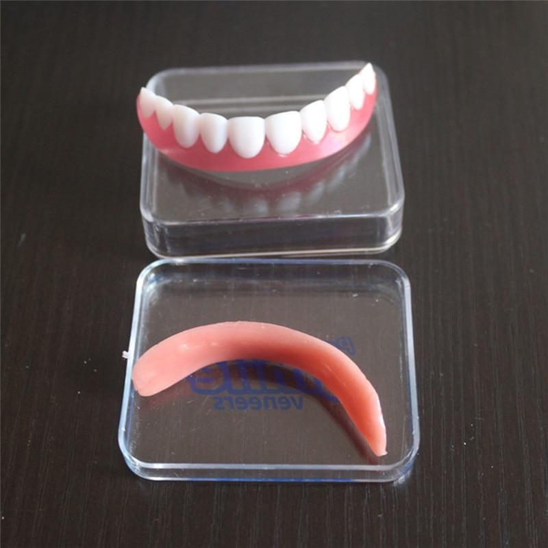 False Tooth Stickers Simulation Teeth Whitening Dentures Paste Braces Upper Tooth Cover Tool Perfect Smile Comfort Teeth Veneers 5