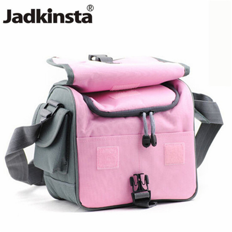 Camera/Video Bags New BLUE or PINK Color Waterproof Camera Bag Case for NIK D3100 D90 D600 D4 D7000 D3200 D300S D5100 bag