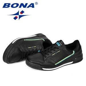 Image 5 - 善意ファッションメンズフラットシューズ秋通気性の男性のカジュアルシューズのトレンド軽量レジャー快適なスニーカーの靴